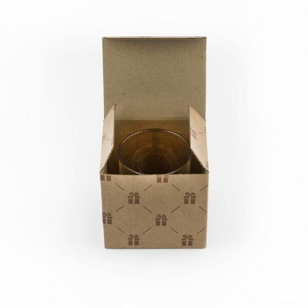 фото бокала для виски Именной в упаковке