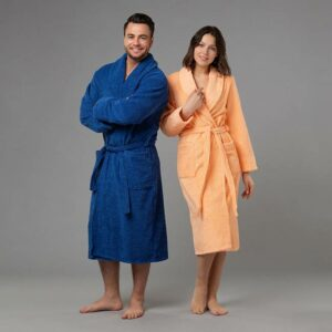подарок семье халаты с вышивкой Мистер и миссис