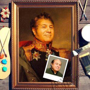 подарок портрет выполненный по фотографии генерал