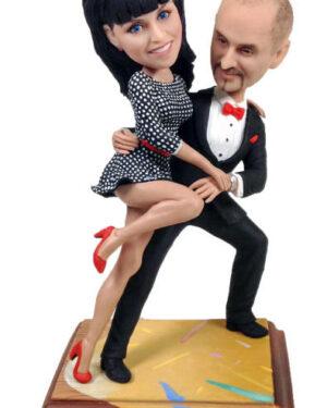 подарок паре фигурка по фото Страстное танго