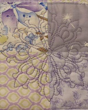 подарок детское одеяло ручной работы пэчворк розовое 2