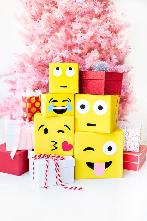 Упаковка подарка в виде Эмодзи 5