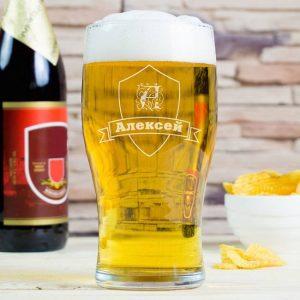 Бокал для пива именной