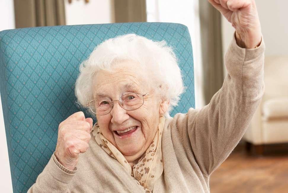 Бабушке