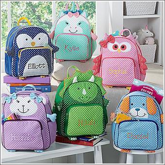 Детский именной рюкзак