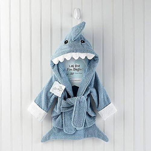 Детский халат Акула