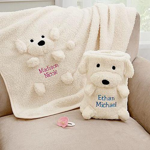 Детское одеяло с животными