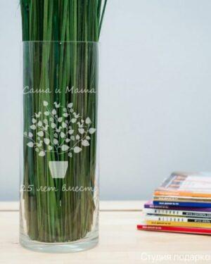Подарочная ваза Дерево счастья