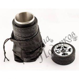 подарок термокружка в оригинальном дизайне Шины