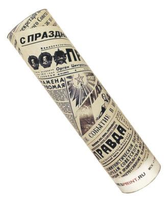 Подарок персонализированная ретро газета со статьей-поздравлением