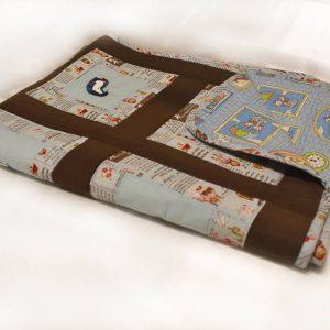 Подарок детское одеяло ручной работы пингвины 5