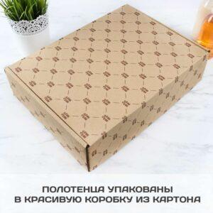 Комплект полотенец упаковка