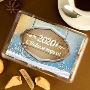 """Набор печенья с предсказаниями """"С Новым Годом"""""""