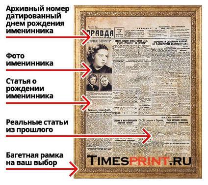 газета описание